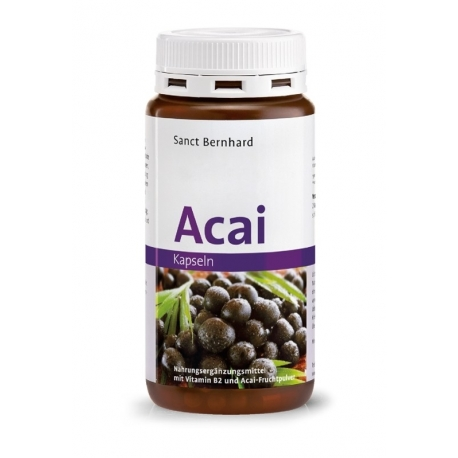 Sanct Bernhard Acai Berry 180 kapslí
