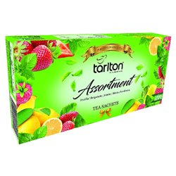 TARLTON Assortment 5 Flavour Green Tea 100x2g