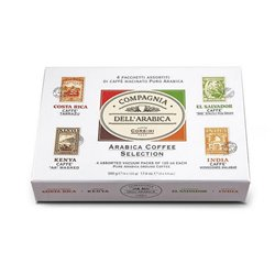 Corsini Arabica Coffee Selection Paper Gift Pack 4x125 g